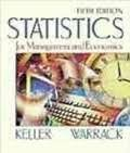 9780534371456: Student Solutions Manual for Statistics for Management and Economics