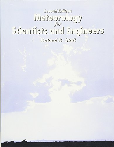 9780534372149: Meteorology for Scientists and Engineers: Technical Companion Book to C.Donald Aherns'