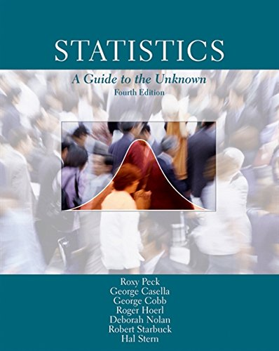 9780534372828: Statistics: A Guide to the Unknown