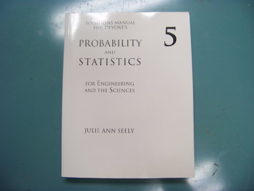 Probability and Statistics for Engineering and the: Jay Devore