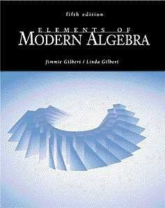 9780534373511: Elements of Modern Algebra