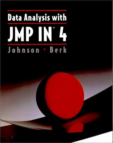 9780534373955: Data Analysis with JMP-IN 4.0 (Statistics Ser)