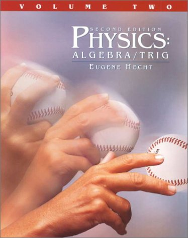 9780534375058: Physics: Algebra and Trigonometry, Volume II (with Revised CD-ROM)