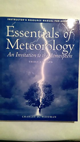 9780534375249: Essential of Meteorology Im Tb