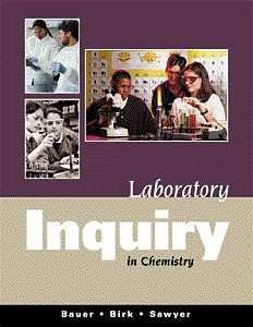 9780534376949: Laboratory Inquiry in Chemistry