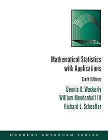 9780534377410: Mathematical Statistics with Applications (Mathematical Statistics (W/ Applications))