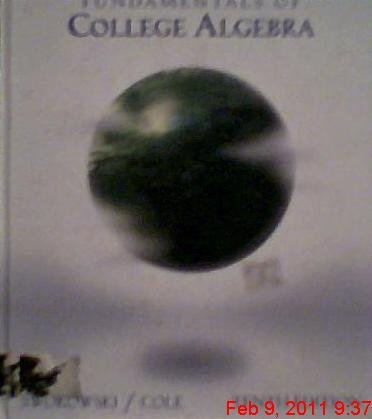 9780534377588: Fundamentals of College Algebra (Available Titles CengageNOW)