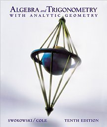 9780534377595: Algebra and Trigonometry With Analytic Geometry
