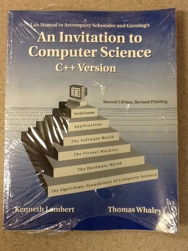 9780534378844 Laboratory Manual To Accompany An Invitation To