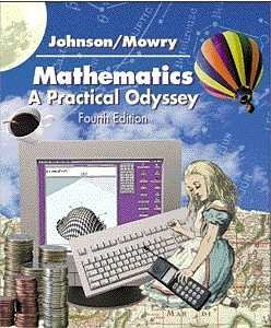 9780534378912: Mathematics: A Practical Odyssey