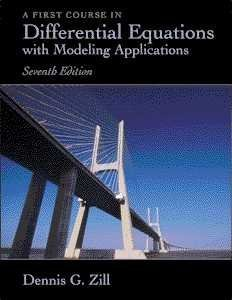 9780534379995: Differential Equations with Modeling Applications