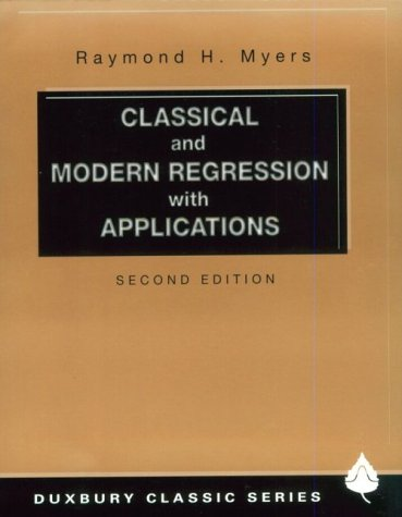 9780534380168: Classical and Modern Regression With Applications