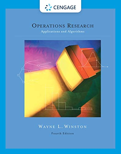 Operations Research: Applications and Algorithms (with CD-ROM and InfoTrac): Winston, Wayne L.