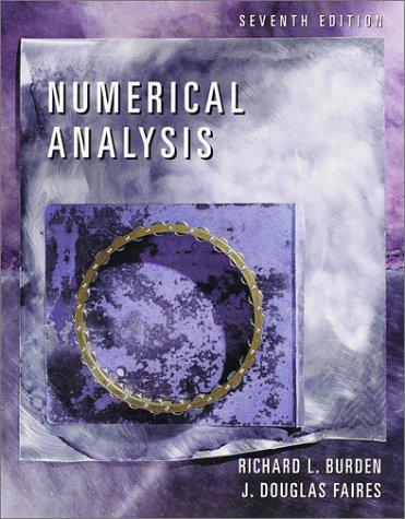 9780534382162: Numerical Analysis