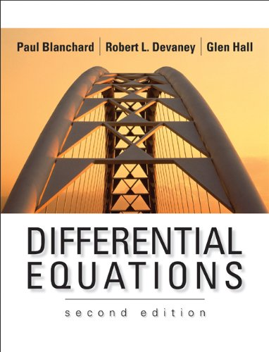 9780534385149: Differential Equations (with CD-ROM)