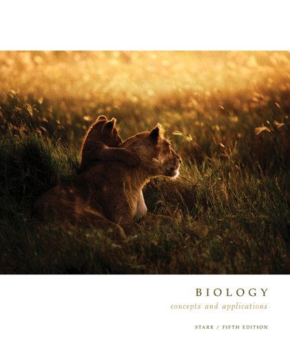 9780534385491: Biology: Concepts and Applications (Cloth with InfoTrac and CD-ROM) (Brooks/Cole Biology Series)
