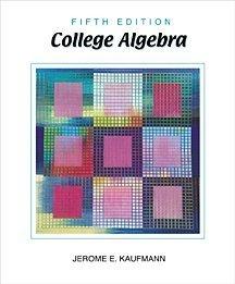 9780534386177: College Algebra