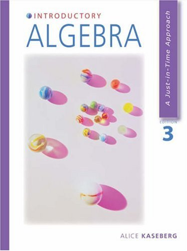 9780534386313: Introductory Algebra (with CD-ROM)