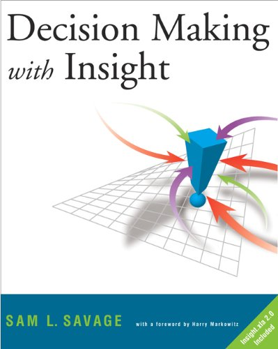 9780534386399: Decision Making with Insight (with Insight.xla 2.0 and CD-ROM)