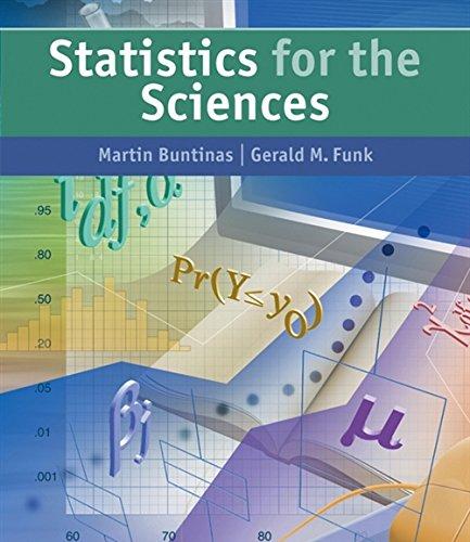 Statistics for the Sciences: Gerald M. Funk;