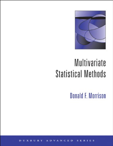 9780534387785: Multivariate Statistical Methods