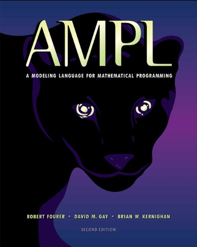 9780534388096: AMPL: a Modeling Language for Mathematical Programming