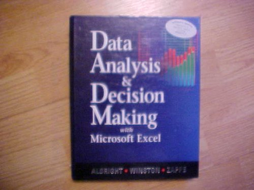 9780534389321: Data Analysis and Decision Making With Microsoft Excel