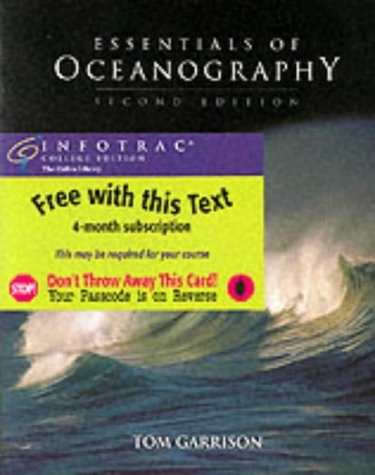 9780534389482: Essentials of Oceanography, Media Edition (with Earth Systems Today CD-ROM and InfoTrac)