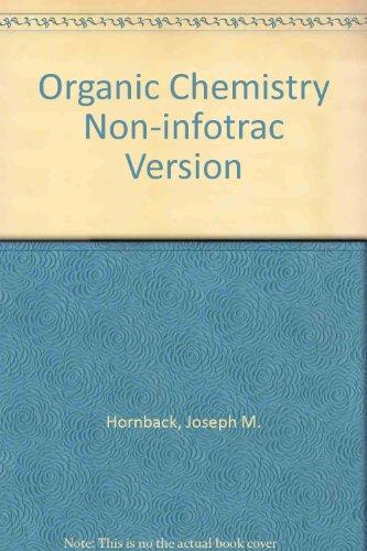 9780534389536: Organic Chemistry Non-infotrac Version
