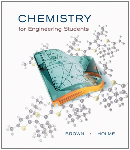 9780534389741: Chemistry for Engineering Students