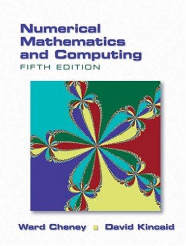 9780534389932: Numerical Mathematics and Computing
