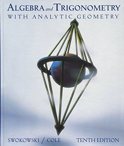 9780534390501: Algebra and Trigonometry with Analytic Geometry (with CD)