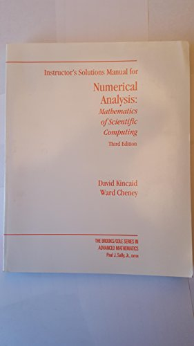 9780534391041: NUMERCL ANAL MATH SCI COMP 3ED