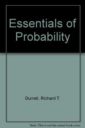 9780534391119: Essentials of Probability