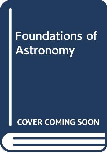 Foundations of Astronomy (Non-InfoTrac Version with CD: Michael A. Seeds