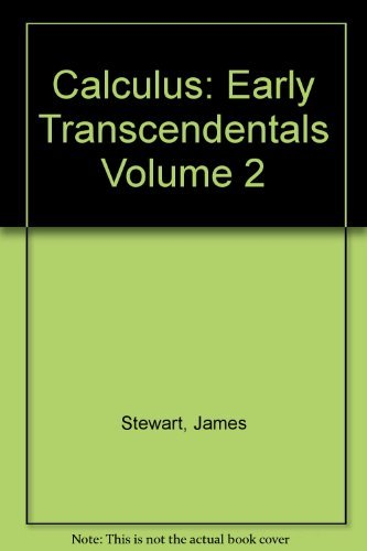 Calculus early transcendentals abebooks calculus early transcendentals volume 2 james stewart fandeluxe Image collections