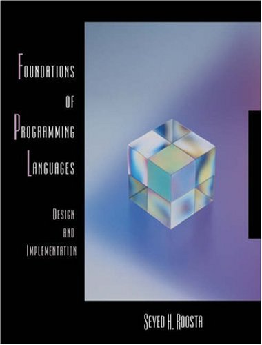 9780534393038: Foundations of Programming Languages