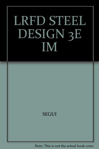 9780534393748: LRFD STEEL DESIGN 3E IM