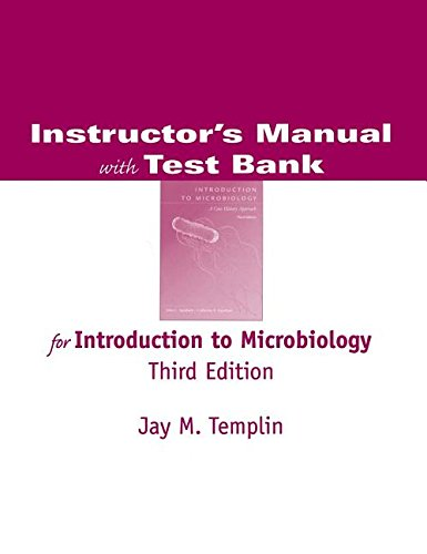 9780534394677: Instructor's Manual with Test Bank for Introduction to Microbiology