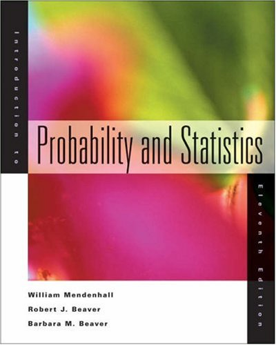 9780534395193: Introduction to Probability and Statistics With Infotrac