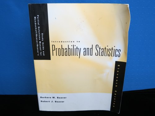 Introduction to Probability and Statistics: Study Guide: Mendenhall, William; Beaver,