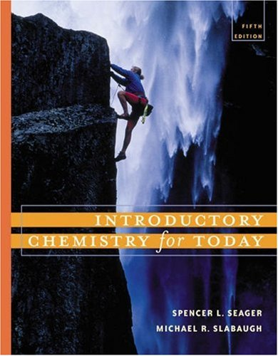 9780534395919: Introductory Chemistry for Today (with GOB ChemistryNOW and InfoTrac)