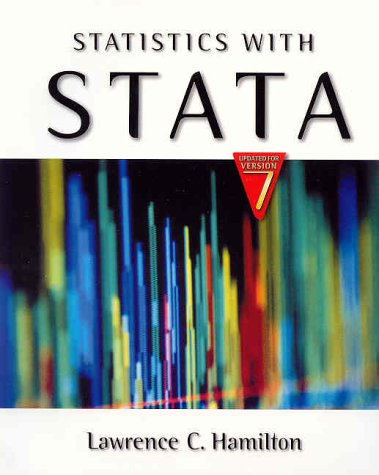 9780534396541: Statistics with Stata (Updated for Version 7)