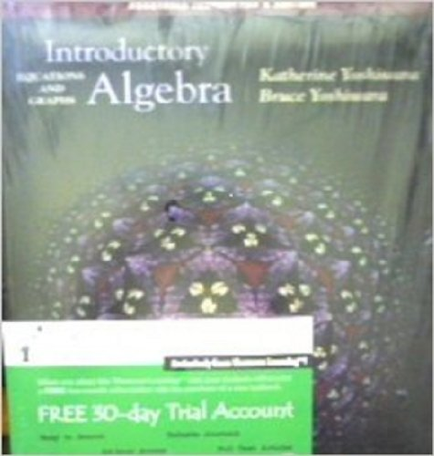 9780534396688: Introductory Algebra: Equations and Graphs