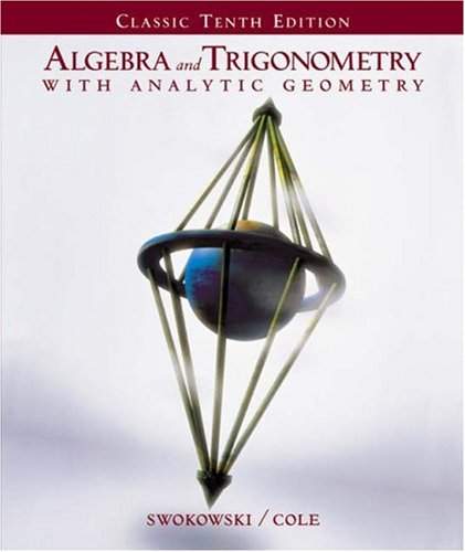 9780534397265: Algebra and Trigonometry With Analytic Geometry