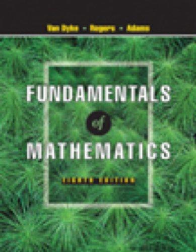 Fundamentals of Mathematics (with CD-ROM, Make the: James Van Dyke,
