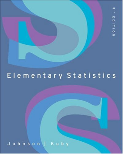 Elementary Statistics (with CD-ROM and InfoTrac) (Available: Robert R. Johnson,