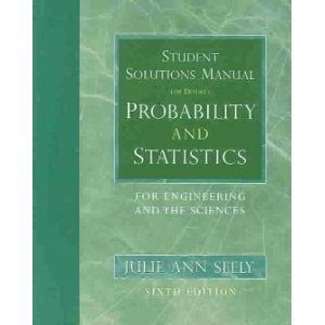 Probability and Statistics for Engineering and Science: Julie Ann Seely