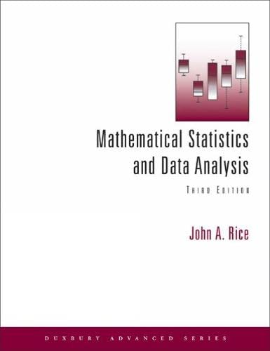 MATHEMATICAL STATISTICS AND DATA ANALYSIS (WITH CD) 3RD EDITION