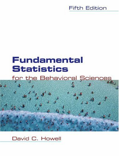 9780534399511: Fundamental Statistics for the Behavioral Sciences (with CD-ROM and InfoTrac )